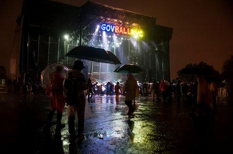 governors ball rain nyc