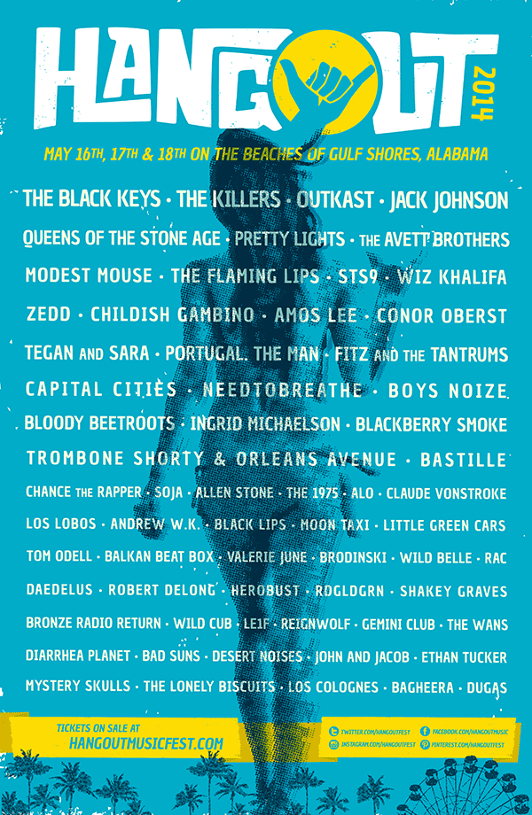 hangout music festival 2014 lineup