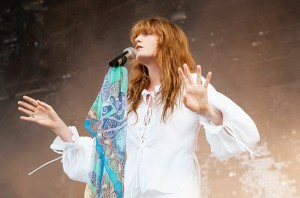 MANCHESTER, TN - JUNE 14:  Florence Welch of Florence + The Machine performs on day 4 of Bonnaroo Music & Arts Festival on June 14, 2015 in Manchester, Tennessee.  (Photo by Erika Goldring/WireImage)