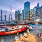 A Thursday Evening at New York City's Seaport
