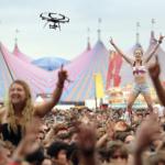 Drones at Music Festivals