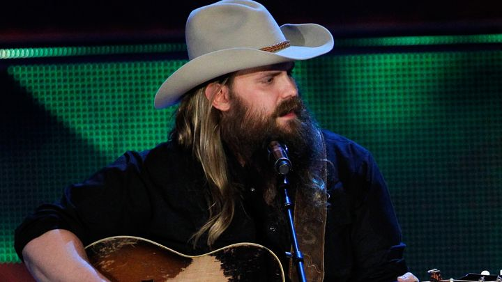 Chris stapleton rises to fame after cma awards travel hymns for How many kids does chris stapleton have