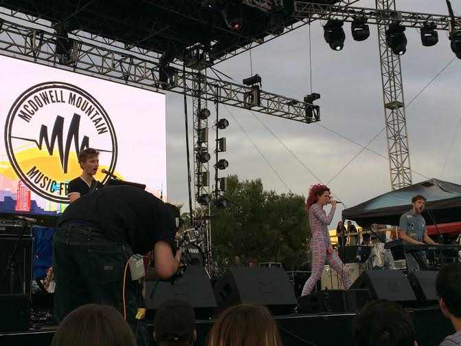 Ms mr at mcdowell mountain music festival