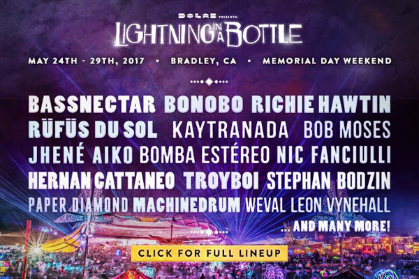 Lightning in a Bottle Lineup 2017