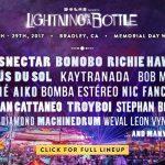 Lightning in a Bottle! Full Lineup 2017!