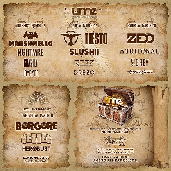 UME 2017 Lineup