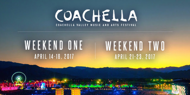 Coachella Line Up Announced Travel Hymns