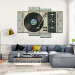 A Wall of Music: Exploring Music Canvas Artworks For Home Decor